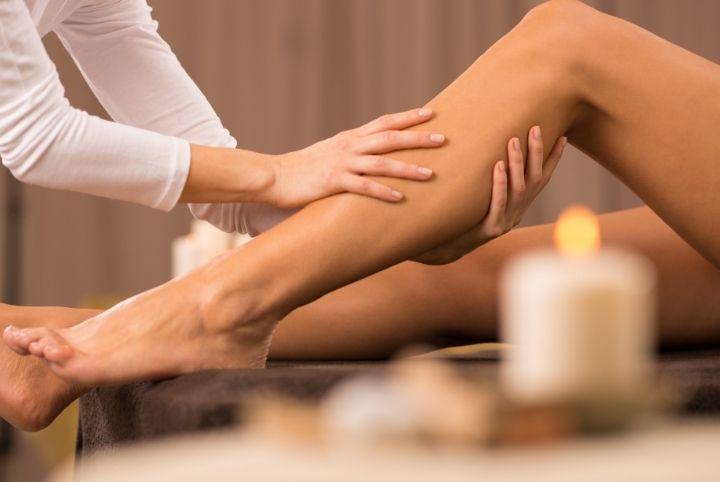 massaggio emolinfatico gambe